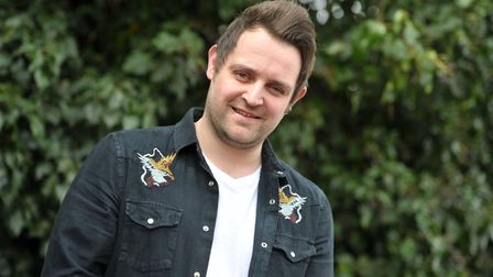 Gareth Grayston launched a concert with some big names for Stand Up to Cancer. Picture: SARAH LUCY