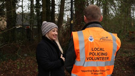 The Local Policing Volunteers scheme is now approaching its first anniversary. Picture: SUFFOLK CONS