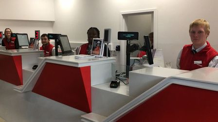 Greater Anglia is looking at the opening hours of its ticket offices like this one in Ipswich. Pictu
