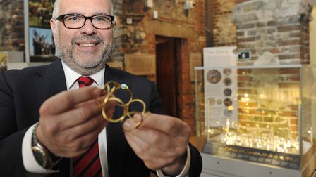 Council leader Tim Young is a vocal supporter of the heritage of Colchester and its roman treasures