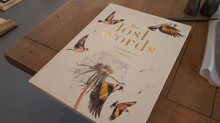 The exhibition is seen as a response to The Lost Words - A Spell Book by Robert MacFarlane and Jac