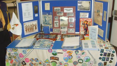 One of the archive displays used in Suffolk Picture: NORTH WEST DIVISION SUFFOLK GIRLGUIDES