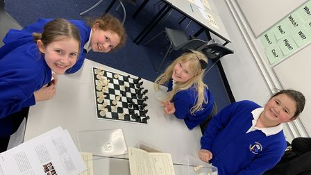 Pupils from across Suffolk were treated to a spellbinding book night at Saxmundham Free School Pictu