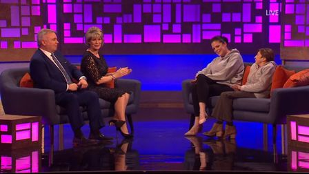 Do The Right Thing presenters Eamonn Homes and Ruth Langsford interview Millie Corke and Katrina Cla