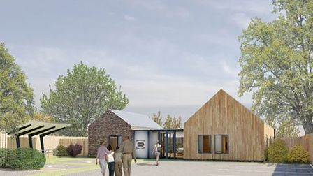 Work has started on the Pear Tree Centre in Halesworth Picture: ISI ARCHITECTS