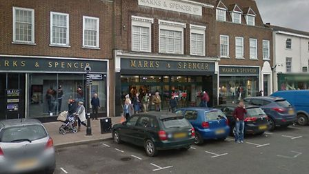 Marks and Spencer in Bury St Edmunds Picture: GOOGLE MAPS