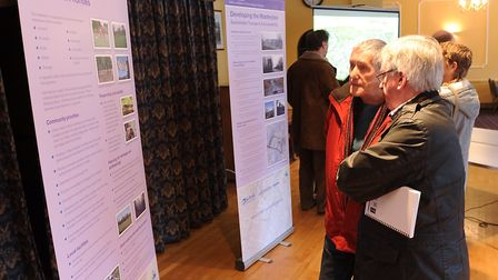 A consultation for the Chilton Woods development in 2015 Picture: ARCHANT