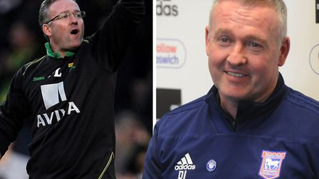 Ipswich Town manager Paul Lambert returns to Norwich City this weekend. Picture: ARCHANT