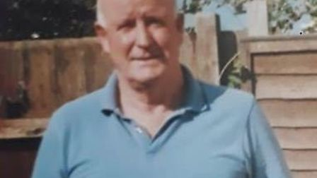 Thomas Pritchard, 81, from Stowmarket was last seen at midnight on Monday Picture: SUFFOLK CONSTABUL