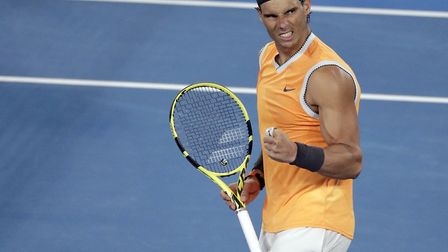 Rafa Nadal is one of the greatest tennis players of all time. Picture: PA SPORT