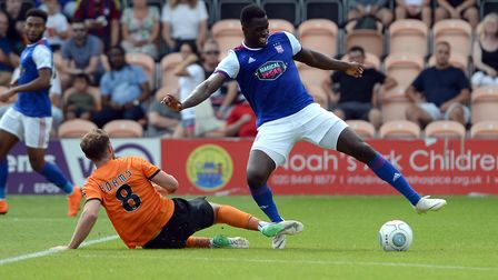 Josh Emmanuel has spent a lot of time out on loan - but fans still want to see him get a new deal. P