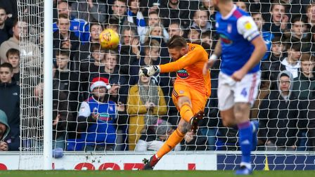 Dean Gerken is the current first choice keeper - but fans would be happy to see him leave, according