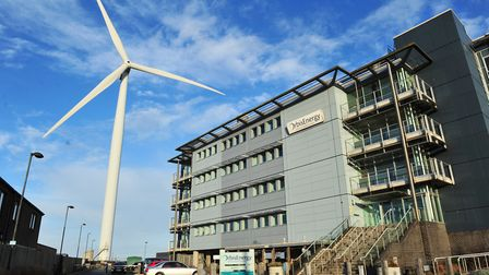 The Orbis Energy Centre in Lowestoft where John Balch's firm is based. The building is managed by Nw