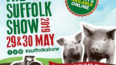 Suffolk Show organisers are challenging the public to name their two piggy poster stars for 2019 Pi