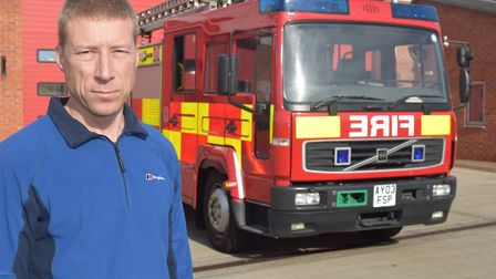 Phil Johnston, chairman of the Fire Brigades Union (FBU) Suffolk branch, said the public needed to b
