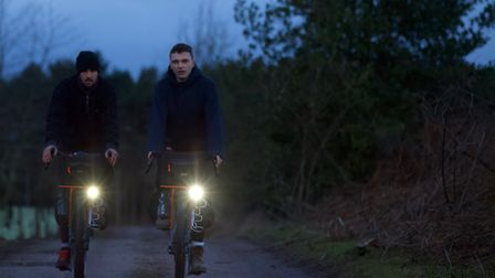 Roo Clark and James Cotton will cycle from Argentina to Columbia in four and a half months hoping to