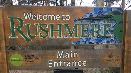 Rushmere Country Park, the home of the Rushmere parkrun, near Leighton Buzzard. Picture: CARL MARSTO