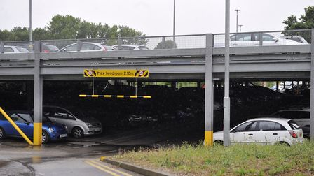 Prices have gone up at the Manningtree railway station car park Picture: ARCHANT