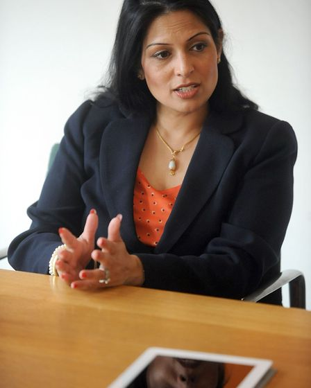 Witham MP Priti Patel, chairman of the Great Eastern Mainline taskforce, is lobbying Greater Anglia,