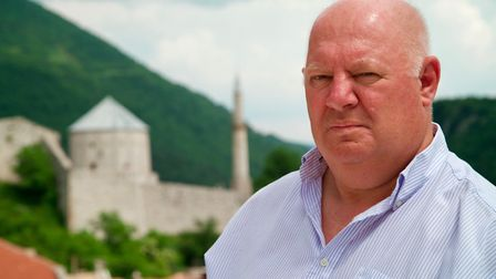 Malcolm Brabant pictured in Travnik, Bosnia Picture: CONTRIBUTED