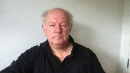 Malcolm Brabant pictured when unwell in December 2011 Picture: FAMILY