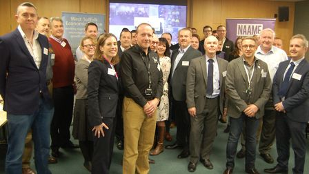 The first meeting took place in Bury St Edmunds on Wednesday of the new West Suffolk Advanced Manufa