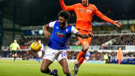 Ellis Harrison started against Millwall on New Year's Day, but has been limited to 10 minutes of act