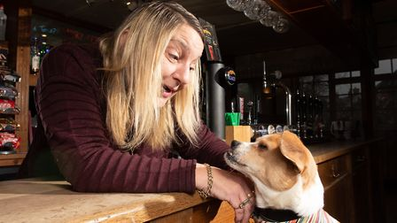 Lord Jefferey is Amanda Fisher's favourite customer Picture: SARAH LUCY BROWN