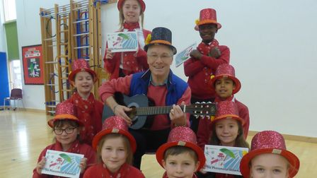 Pupils from St Christopher's Primary School in Red Lodge have produced a CD to accompany a new child