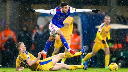 Andre Dozzell has made just two appearances under Paul Lambert. Photo: Steve Waller