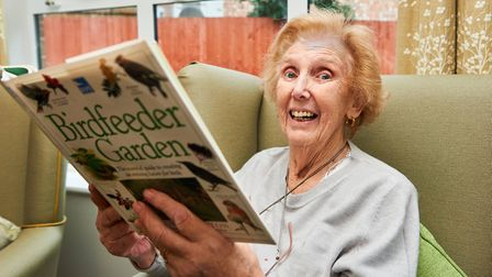 The residents listened to a talk by Clare Ryland from the Hammersmith Community Gardens Association.