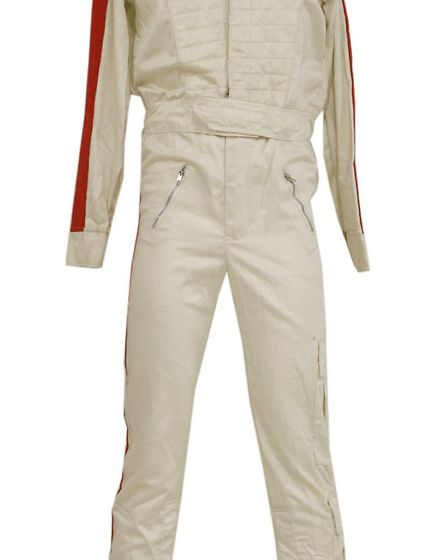 Michael Jackson costume - a jumpsuit, helmet, gloves and trainers worn during the 1992-93 'Dangerous
