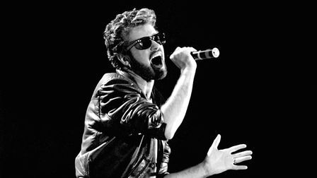George Michael performing on stage Picture: PA PHOTOS