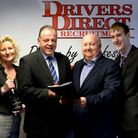The new team at Drivers Direct, Bury Saint Edmunds office