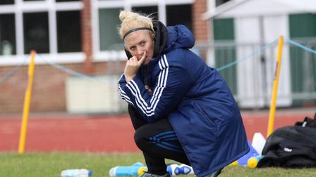 Carla Dickinson has today stepped down from her role as Head Coach of Ipswich Town FC Women Picture: