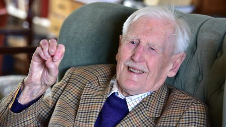 Joe Lubbock. 'My role for the Spitfire was putting the thing together. Next was the Wellington bombe