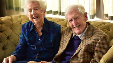 Joe and Ruth Lubbock mark their 75th wedding anniversary in 2016. 'He adored my mother. It was a ver