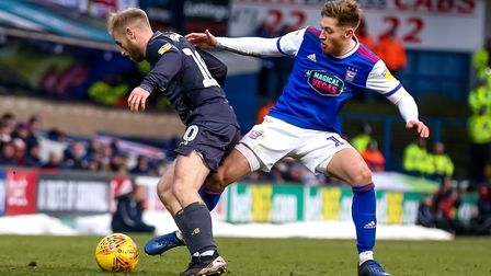Teddy Bishop has signed a new deal with Ipswich Town. Picture: STEVE WALLER WWW.STEPHENWALLER