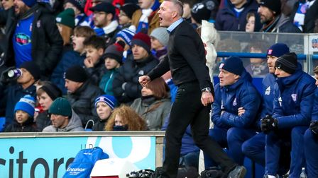 Paul Lambert wants to rebuild Ipswich Town with a focus on young players. Photo: Steve Waller