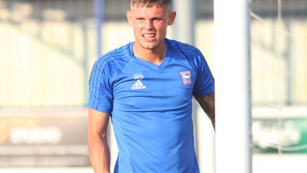 Harry Wright is Ipswich Town's third-choice goalkeeper. Picture: ROSS HALLS