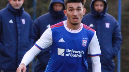 Idris El Mizouni signed his first professional deal with the club recently. Picture: ROSS HALLS