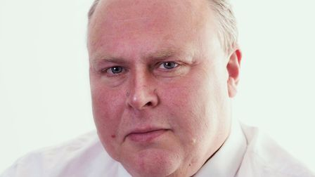 """Richard Smith, Suffolk County Council cabinet member for finance and assets said """"difficult decision"""