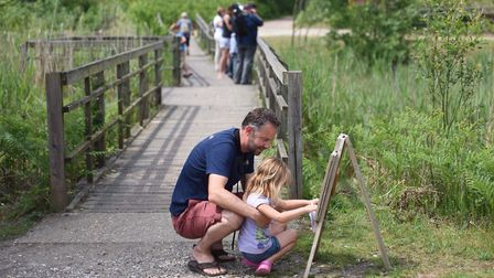 RSPB Minsmere has praised its volunteers for winning the welcome award by VisitEngland. Picture:SARA
