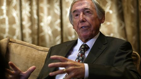 Former England player and World Cup winner Gordon Banks who passed away this week Photo: PA
