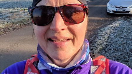 Lisa Dalton, from Sudbury, is running the London Marathon in April, which will be her 31st Picture: