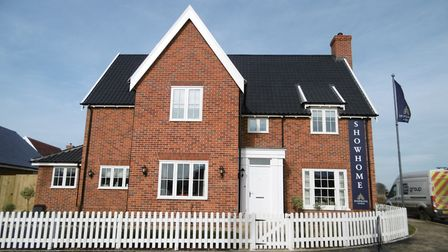 A first look at Hopkins Homes' new development, Saxon Meadow at Capel St Mary. The Wolsey showhome a