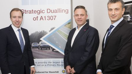 Campaigners say the inclusion of the A1307 in a government report is great news Picture: CONTRIBUTED