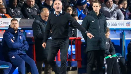 Ipswich Town manager Paul Lambert said he was proud of his players and the fans following Wednesday