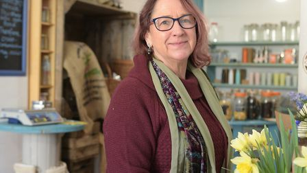 Catherine Winn has opened a completely plastic free shop in Bury St Edmunds Picture: SARAH LUCY BRO
