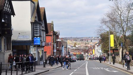Michael Chaukley has been banned from Colchester town centre. Picture: SARAH LUCY BROWN